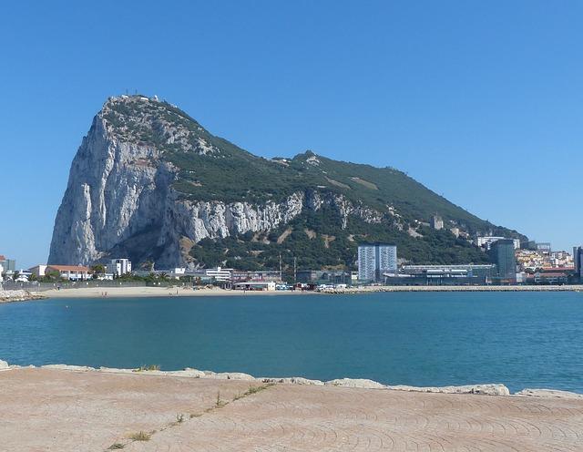 pobřeží gibraltaru