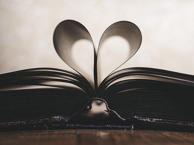 Srdce z knihy